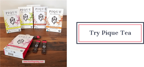 Try Pique Tea | Feasting On Joy