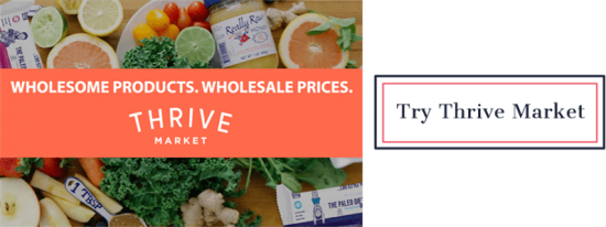 Try Thrive Market | Feasting On Joy